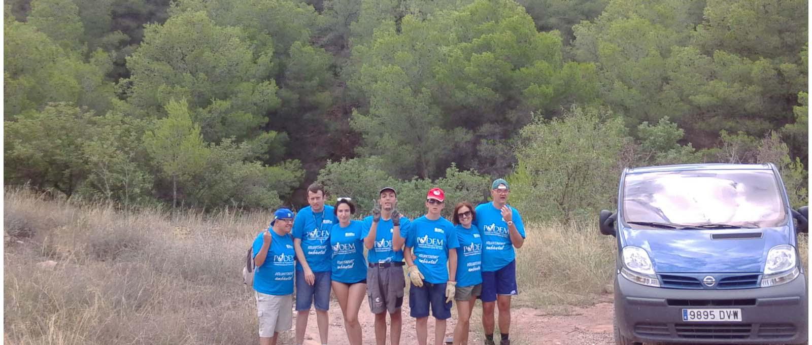VOLUNTARIAT AMBIENTAL EN PREVENCIÓ D´INCENDIS FORESTALS EN LA SERRA CALDERONA Y CAMP DE TURIA